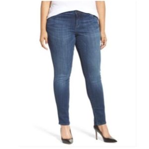 kut from the kloth | diana stretch skinny jeans